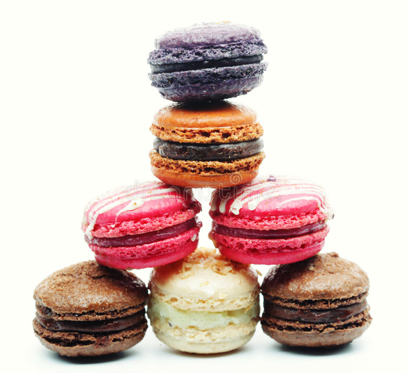 Download Macaroons Over White Background Stock Image - Image: 39903315