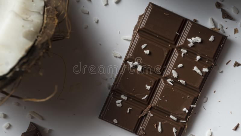 Macaroons, recipe, bounty, coconut bars, coconut oil, chocolate bark, chocolate cake, dessert, mint meltaways, chocolate covered royalty free stock images