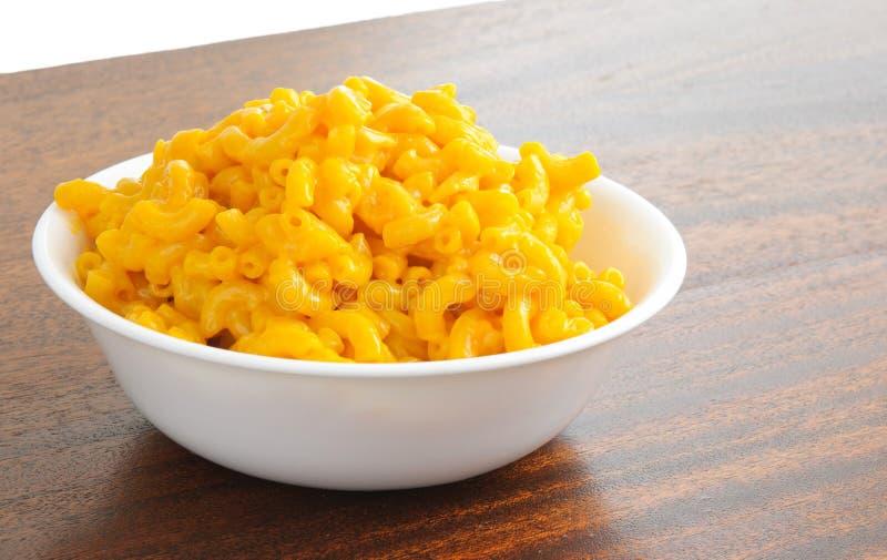 Macarrones y queso imagenes de archivo