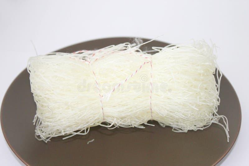Macarronetes de arroz fotografia de stock