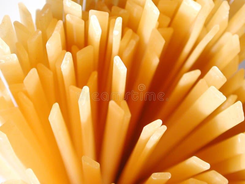 Macarronetes do Fettuccine foto de stock