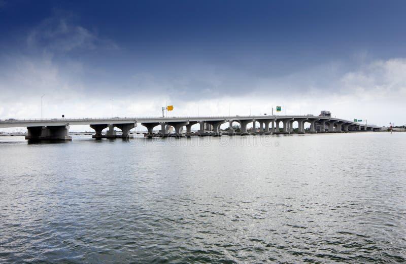 Macarthur Bridge Miami stock photo