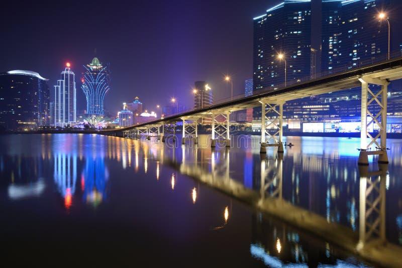 Macau imagem de stock