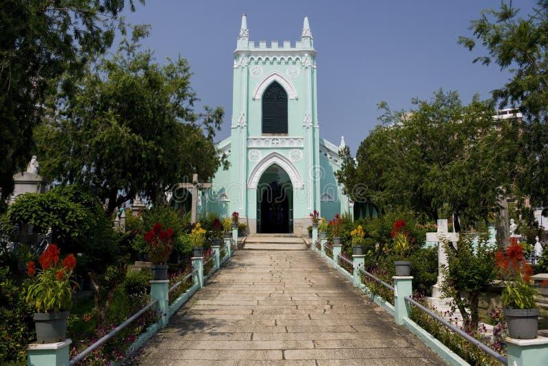 Macau - cemitério velho do protestante fotografia de stock royalty free