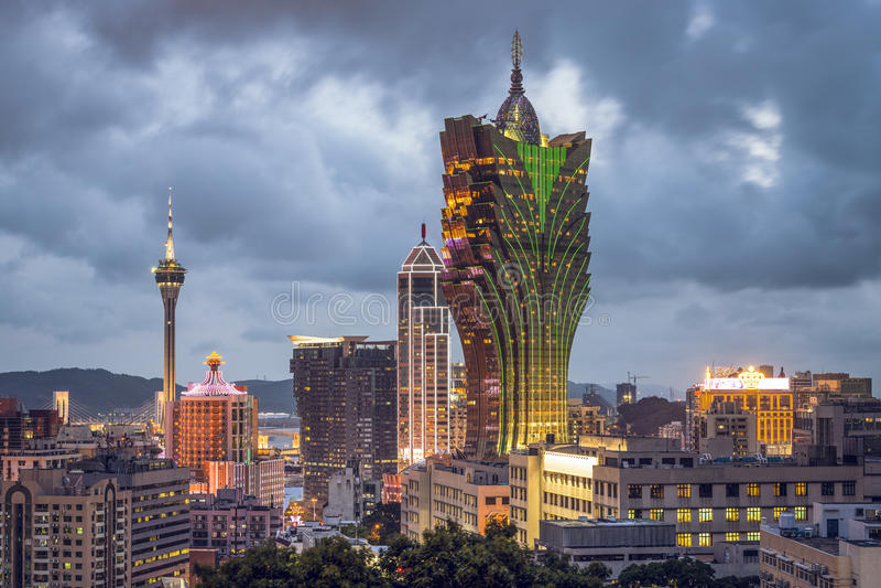 Macau, Chiny obraz stock
