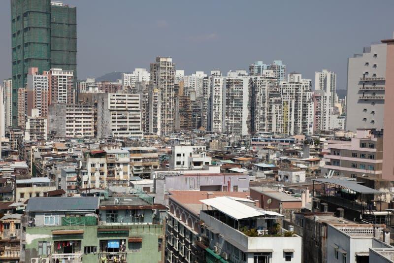 Macau cityscape stock photo