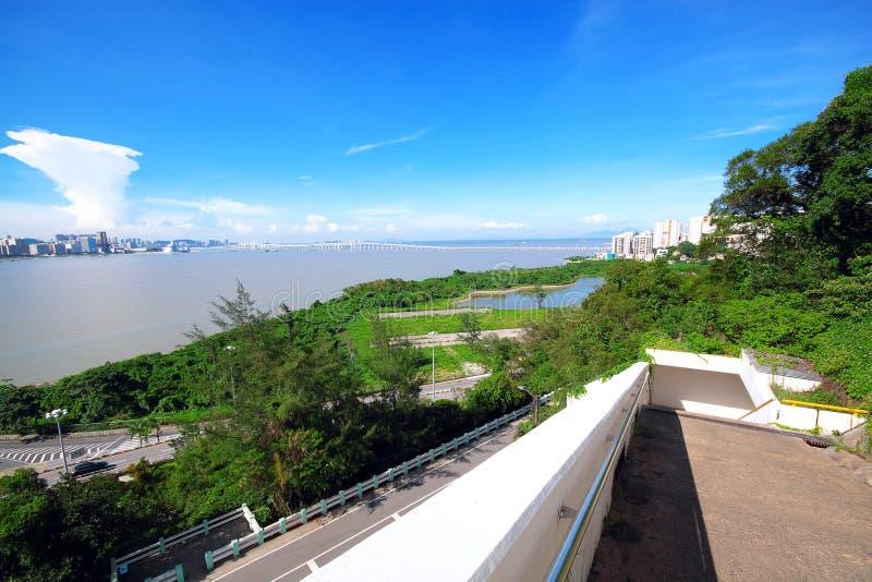 Macau daytime royalty free stock photo