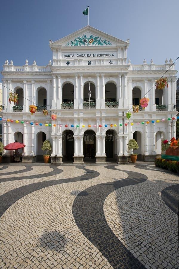 Macau - Largo de Senado fotografia stock libera da diritti