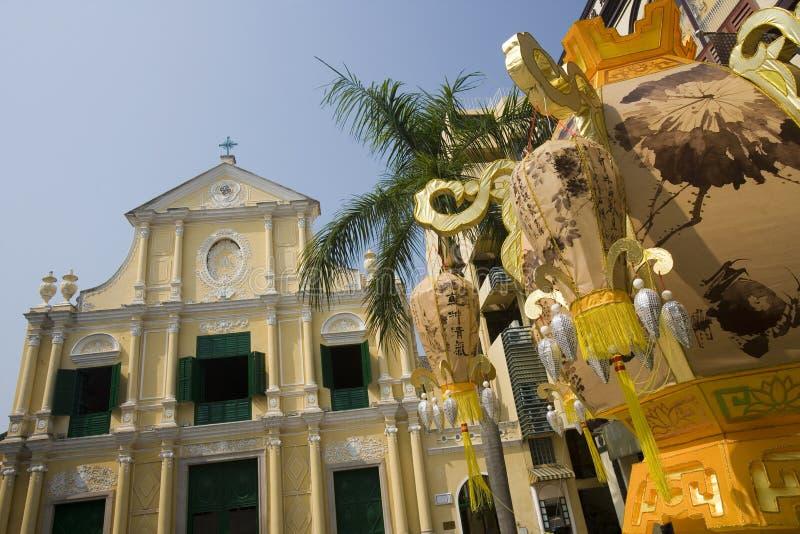 Macau - Largo de Senado royalty free stock photos