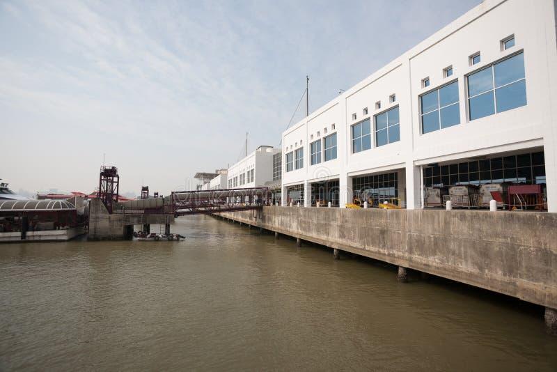 Macau Morski Terminal zdjęcia royalty free