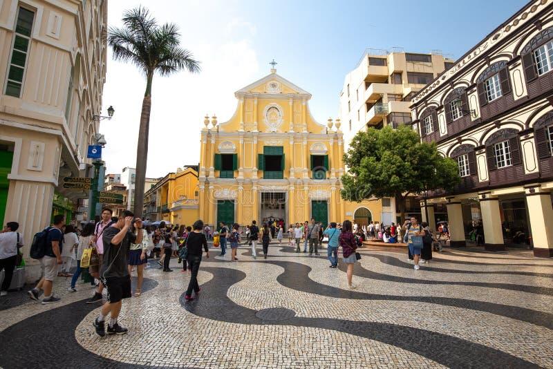 Macau, Porzellan lizenzfreie stockfotos