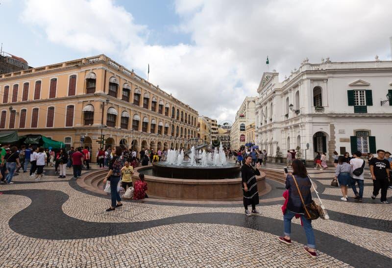 Macau, Porzellan stockbild