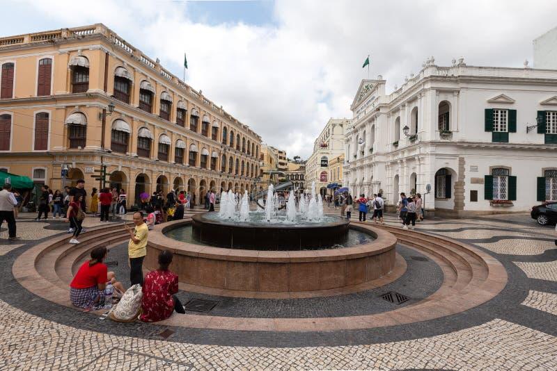 Macau, Porzellan stockfotos