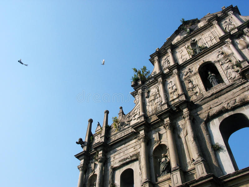 Download Macau St. Paul Church's Ruin Stock Photo - Image of macau, china: 9727774