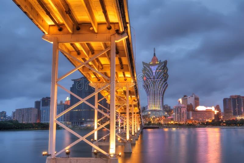 Macau-Stadtbild stockbild