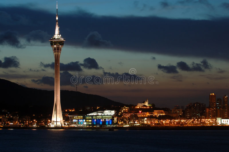 Download Macau Tower Convention And Entertainment Center Stock Image - Image: 1809881