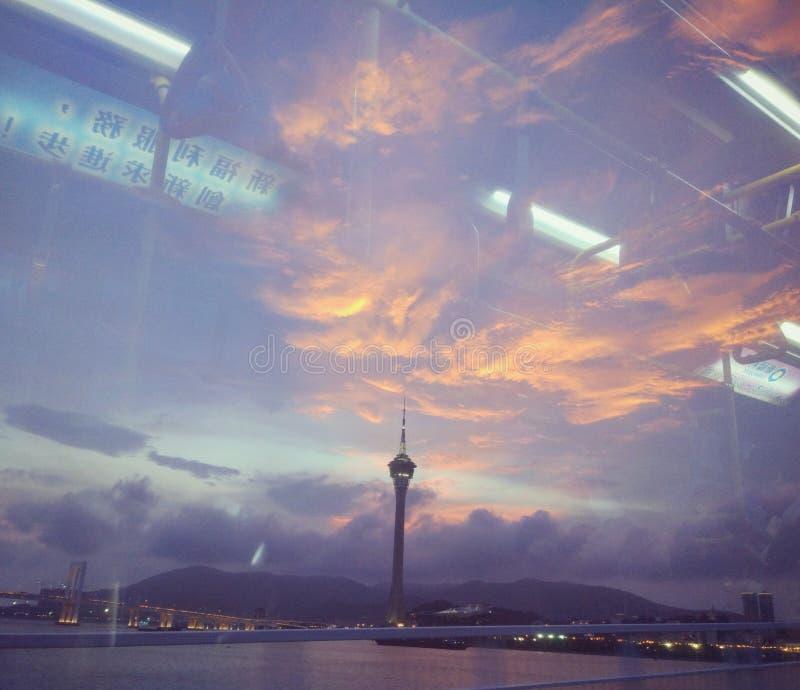 Macau: Macau wierza obraz royalty free