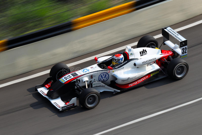 Macaugroßartiges Prix F3-Laufen lizenzfreies stockbild