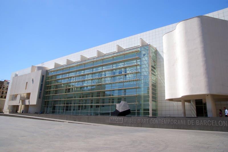 MACBA Βαρκελώνη στοκ φωτογραφία