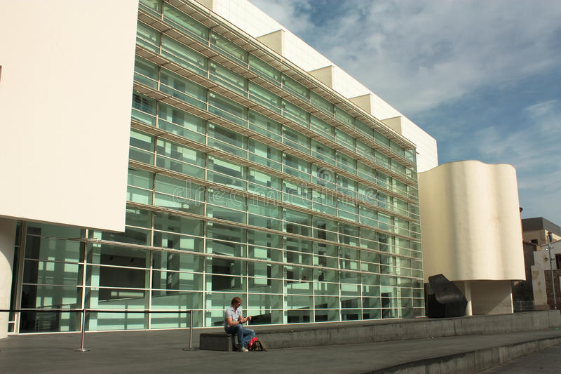 Download MACBA, Barcelona Editorial Photography - Image: 15342257