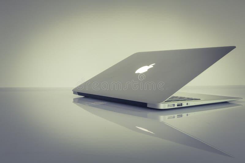 Macbook Air royalty free stock image