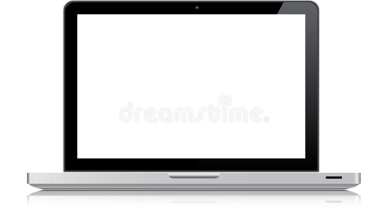 Macbook Pro. Vector illustration of a Macbook Pro notebook