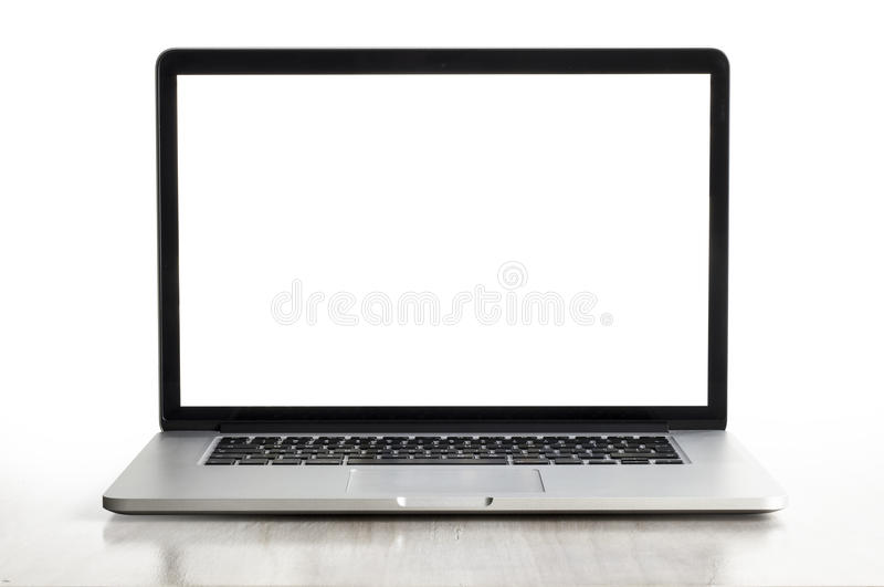 Macbook Proretina stock foto