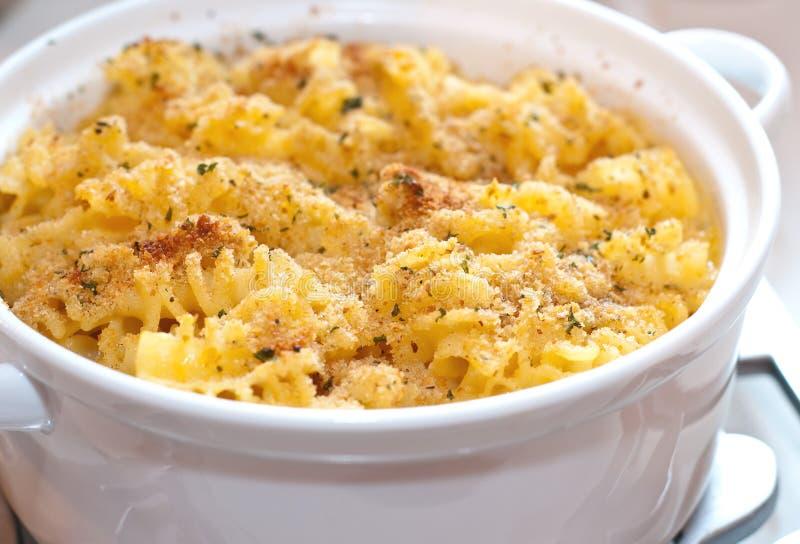 Maccheroni e formaggio immagine stock