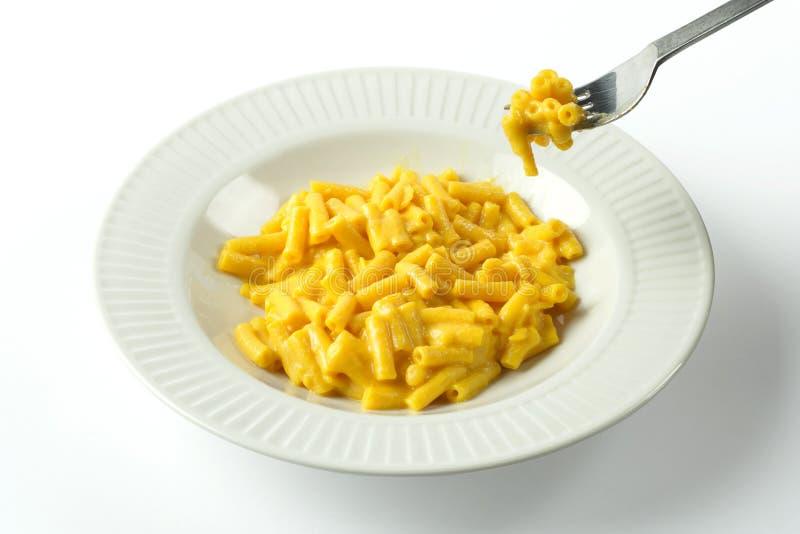 Maccheroni e formaggio fotografie stock
