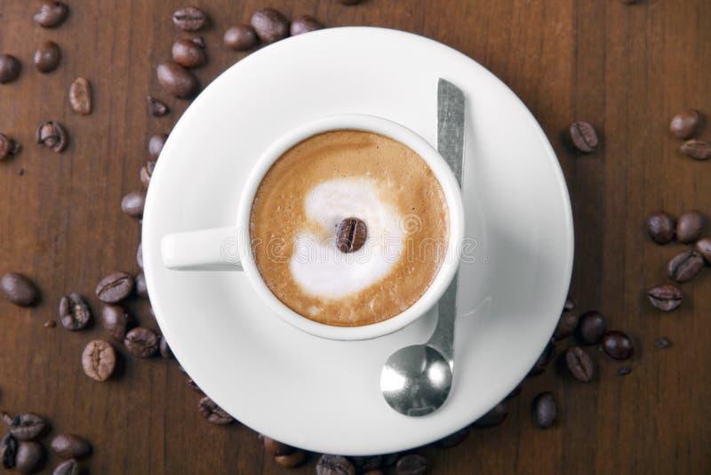 Download Macchiato coffee stock photo. Image of latte, spoon, macchiato - 21615860