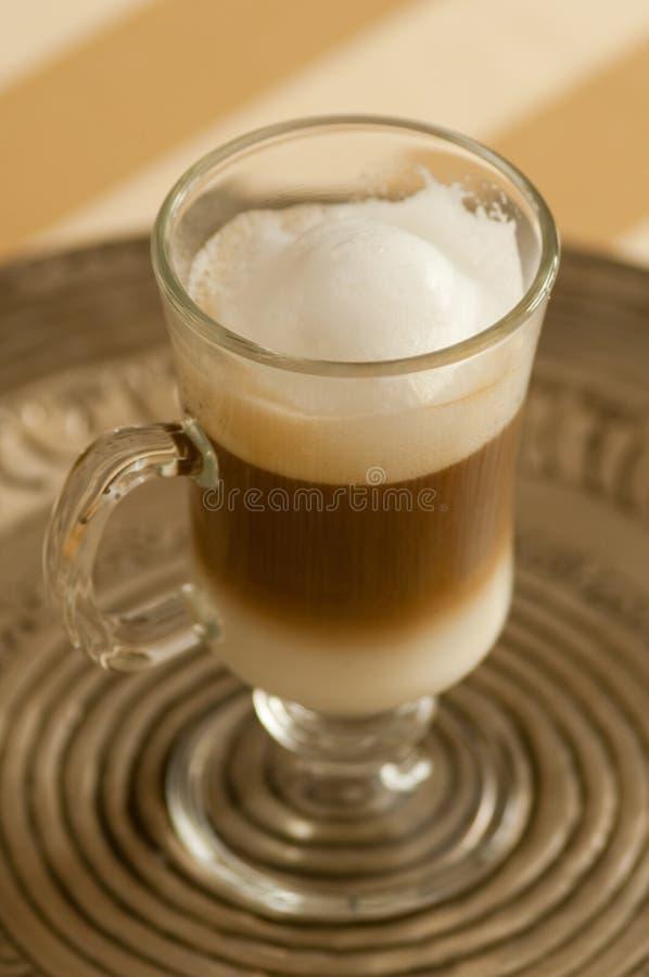 Macchiato del latte di Caffe fotografia stock libera da diritti