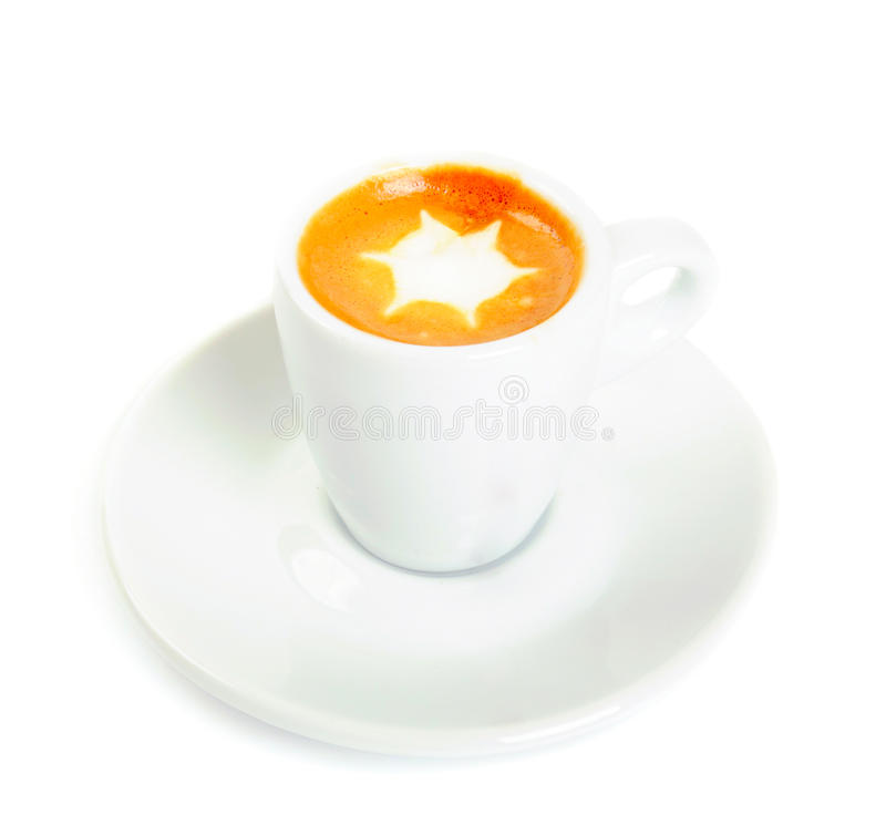 Macchiato a isolé images stock