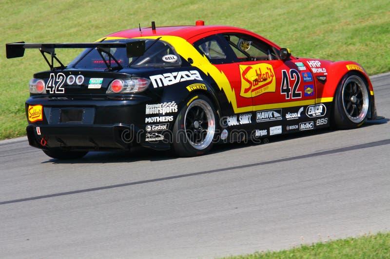 Macchina da corsa di Mazda RX-8 fotografia stock libera da diritti