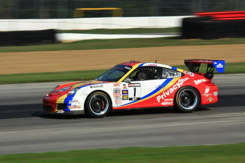 Macchina da corsa di Porsche 991 fotografia stock