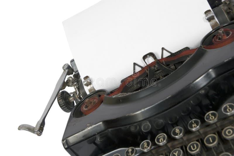 Macchina da scrivere immagini stock libere da diritti