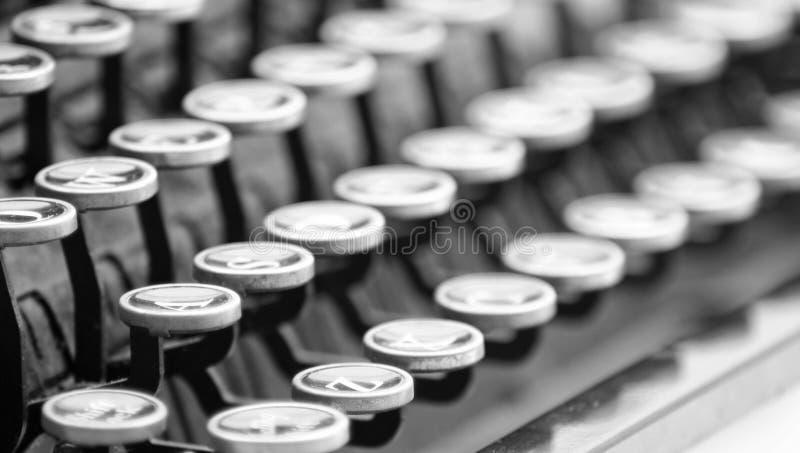 Macchina da scrivere dell'annata fotografia stock libera da diritti