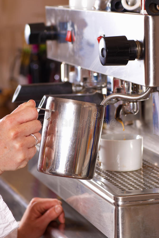 Macchina del caffè fotografie stock