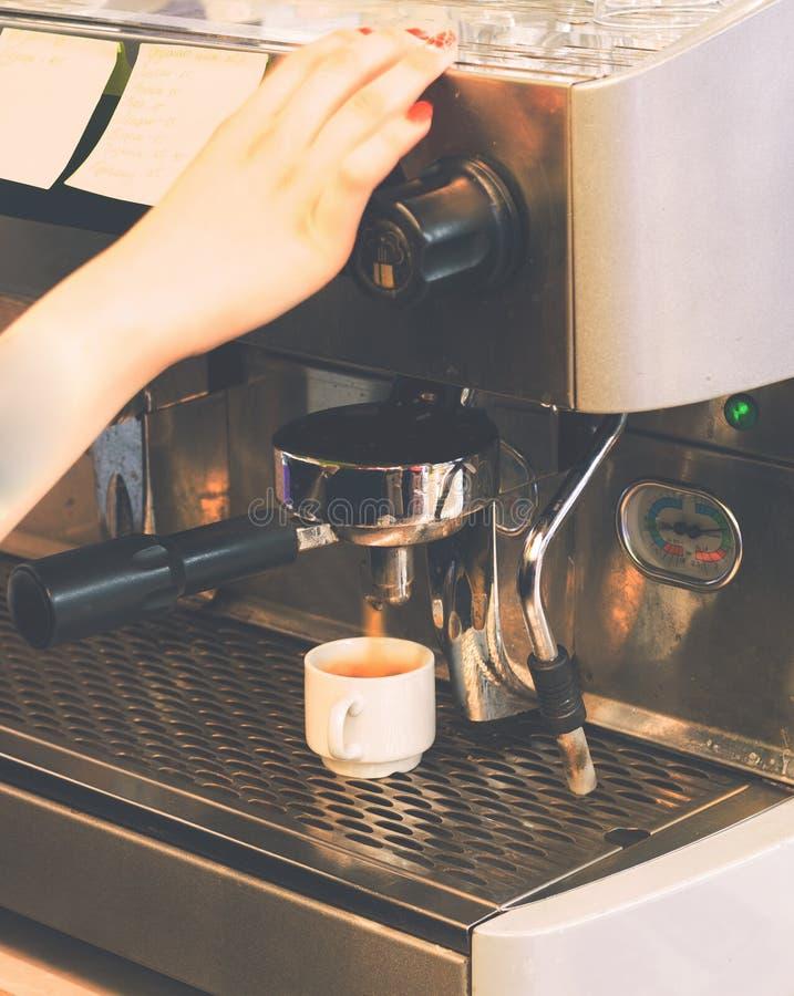Macchina del caff? immagine stock