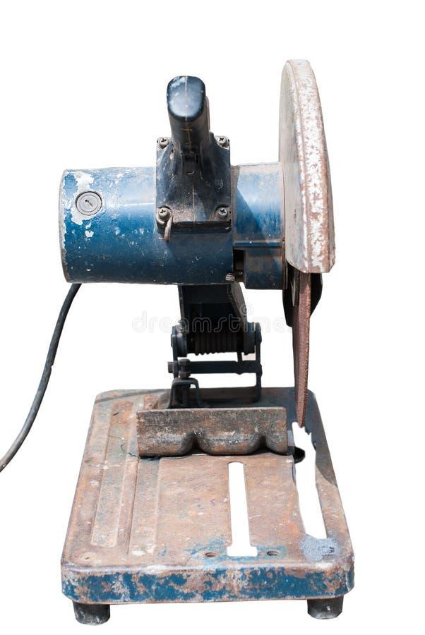 Macchina dell'acciaio di taglio fotografia stock libera da diritti