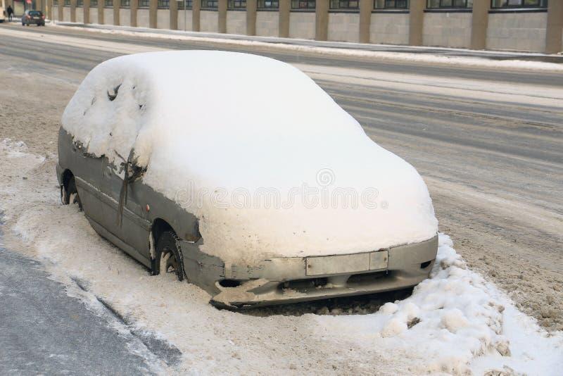 Macchina della neve fotografie stock libere da diritti