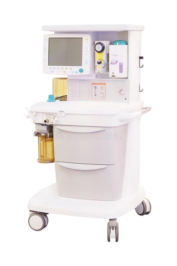 Macchina dentaria di anestesiologia fotografia stock