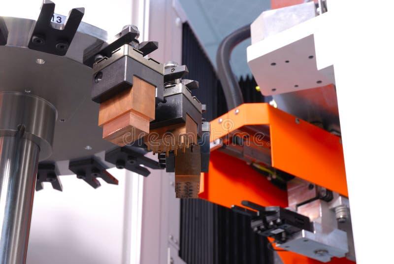 Macchina di CNC fotografie stock libere da diritti