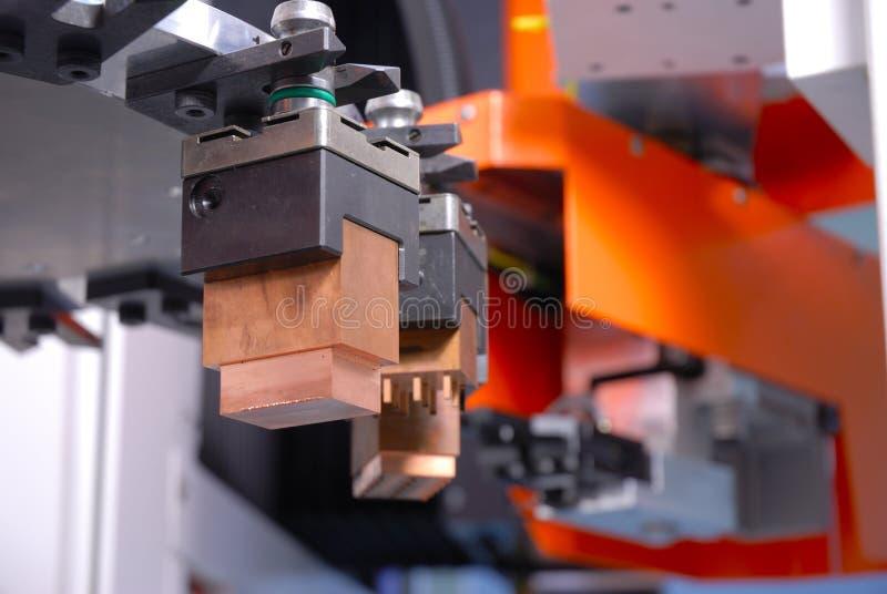 Macchina di CNC fotografie stock