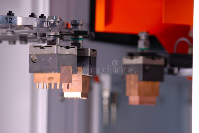 Macchina di CNC immagini stock