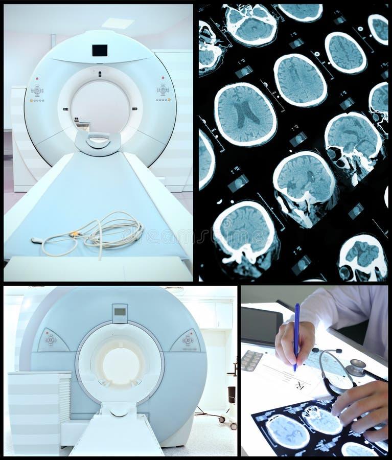 Macchina di CT ed il valore. fotografie stock