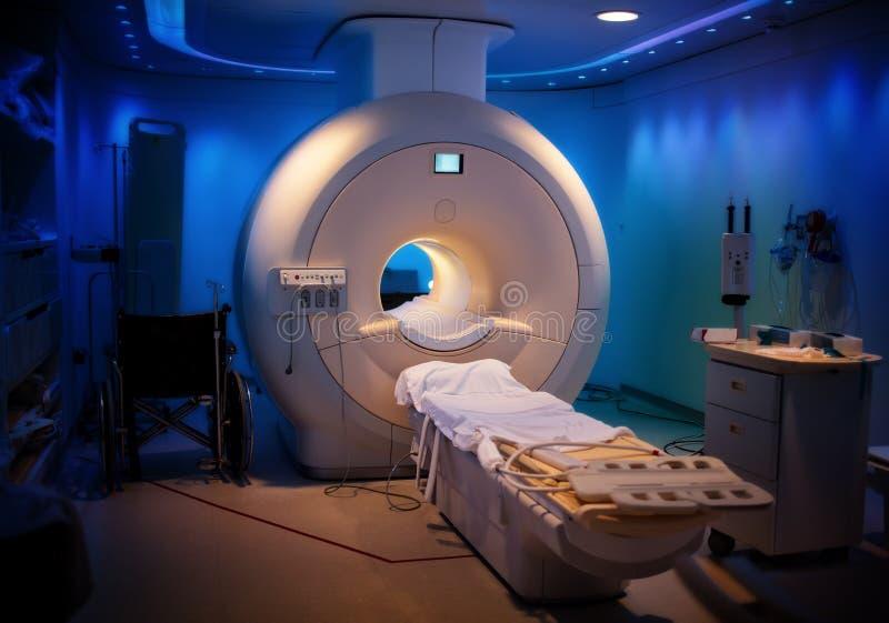Macchina di MRI - ospedale immagini stock