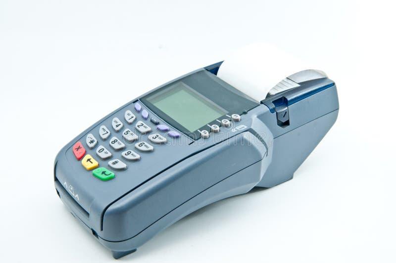 Macchina di pagamento immagine stock
