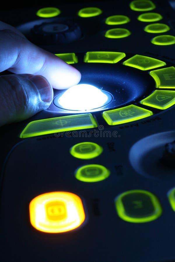 Macchina di ultrasuono immagine stock
