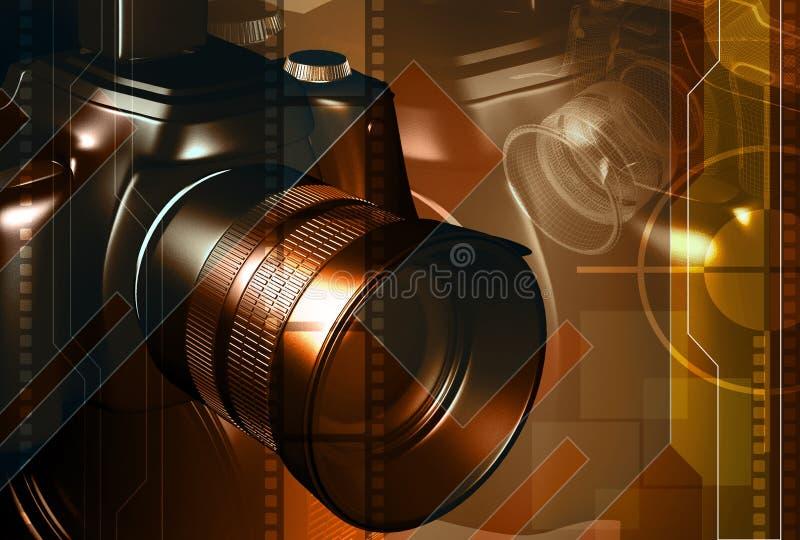 Macchina fotografica royalty illustrazione gratis