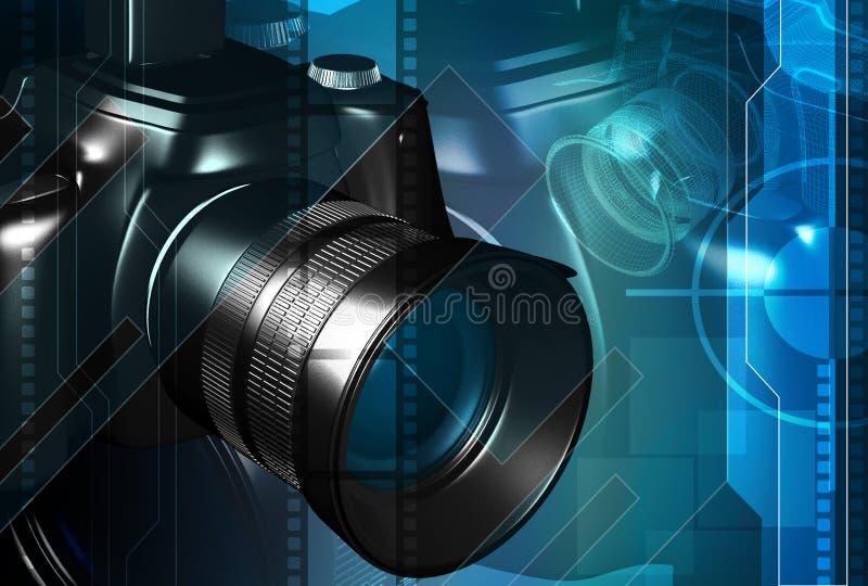 Macchina fotografica illustrazione di stock